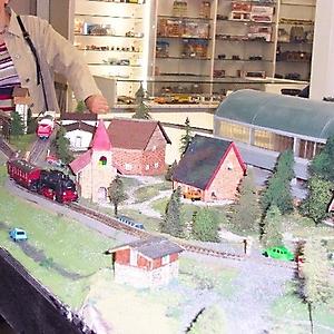 Modelspoor expo maart 2003