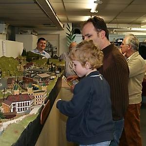 Modelspoor expo maart 2007 & 2008